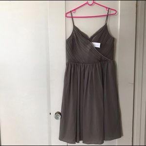 Size 12 grey Banana Republic cocktail dress